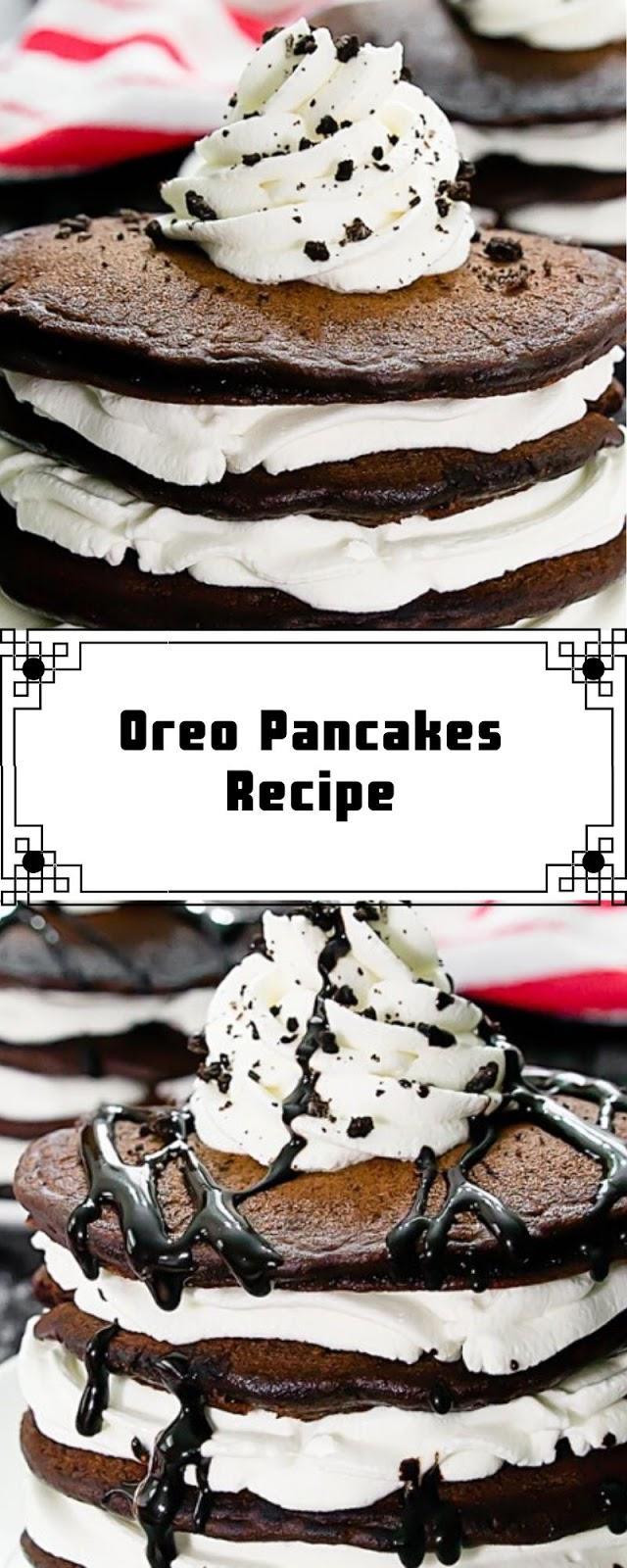 Oreo Pancakes Recipe