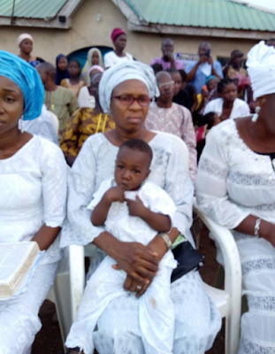 2a - Photos from Late Nollywood actor, Pastor Ajidara's funeral in Abeokuta