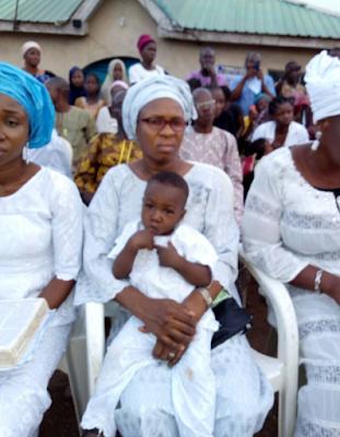 Pastor Ajidara's burial