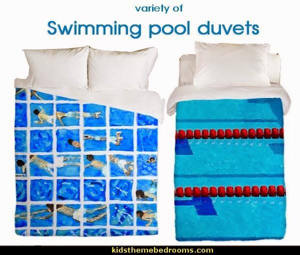 Pool Themed Bathroom: Maries Manor: Swimming Pool