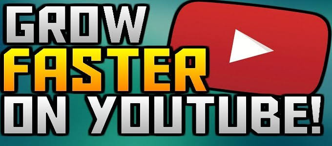 TOP 5 WAYS TO GROW FASTER ON YOUTUBE CHANNEL