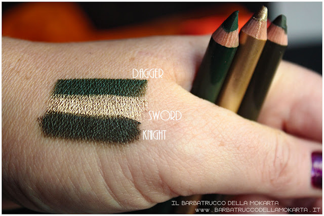 biopastello occhi  swatches neogothic collection neve cosmetics