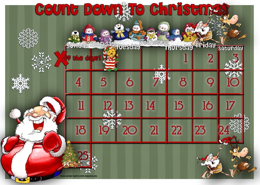 Xmas countdown christmas countdown hd wallpapers blog - How to make a countdown your wallpaper ...