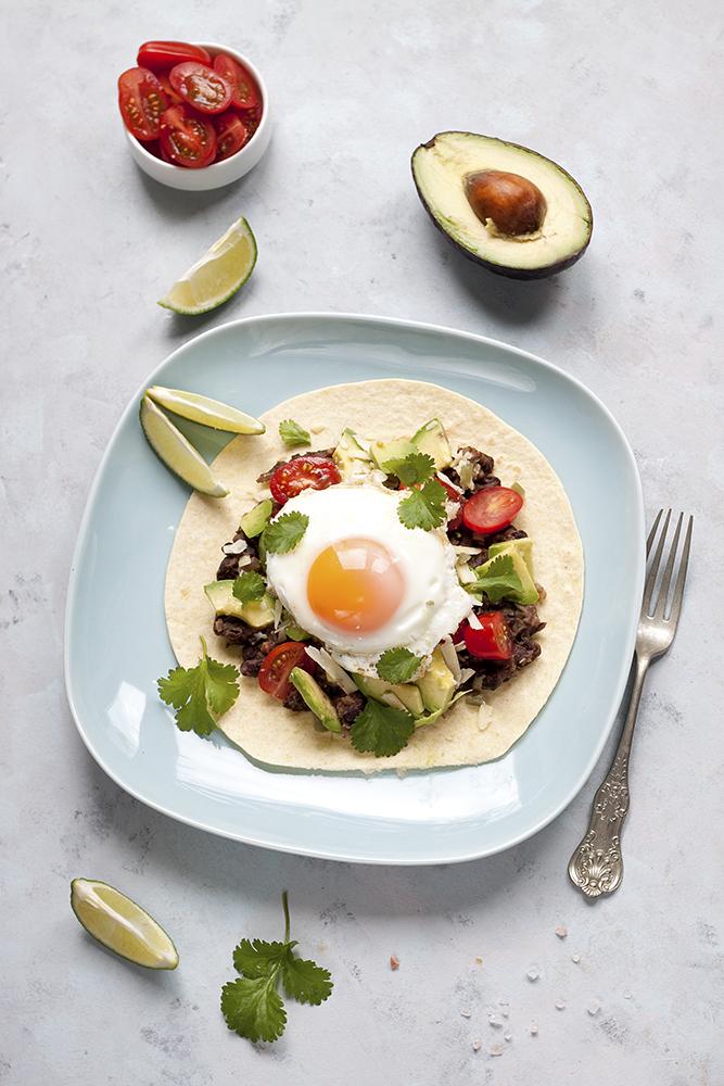 meksykańskie śniadanie huevos rancheros