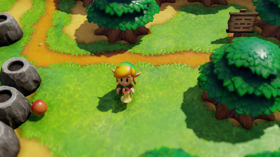 legend of zelda link's awakening remake 3D hd remaster nintendo switch