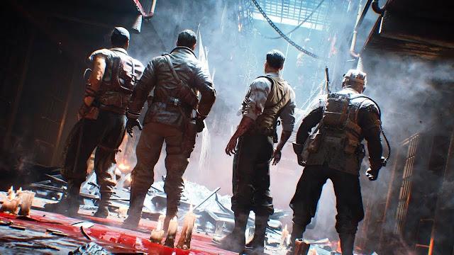 الكشف عن العرض الرسمي لخريطة Blood of the Dead القادمة للعبة Black Ops 4 ، أجواء رهيبة جدا ..