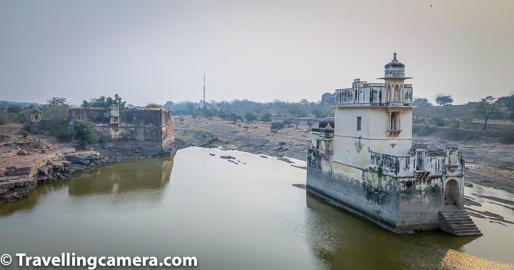 Related Blogpost - Beautiful Kumbha Shyam Temple inside Chittor Fort, Rajasthan - A symbol of Meera's love for Krishna and a Brilliant piece of Architecture in India's Largest fort  Above photograph shows this three storied white building, which is located in the southern part of the fort. Padmini Palace is surrounded by water bodies and there is a huge palace compound on other side of this water body. It seems Padmini used to use a boat to come to main palace from her palace surrounded by water body.   Related Blogpost - Neelkanth Mahadev Temple inside KumbalGarh Fort, Rajasthan - One of the few active temples inside Second Longest Wall of the World  Padimini Palace which is surrounded by water body is the place where Alauddin was permitted to see the mirror image of Rani Padmini. It is widely believed that Alauddin was obsessed by the beauty of Rani Padmini, even by looking briefly at the mirror. That triggered Allaudin to have a desire to win Rani Padmini and he got convinced to destroy Chittor. In the battle, Maharana Rattan Singh was killed and Rani Padmini committed Jauhar.  Related Blogpost - Badal Mahal in Rajasthan - A brilliant palace inside Kumbalgarh Fort for Panoramic Views of the mountains surrounding second largest wall of the world  When our guide at Chittor was narrating the story of Rani Padmavati, he shared about her roots in Shrilanka but it seems that's debated till date. In his narration, he glamourised Jauhar and also shared other stories when thousands of ladies of Chittor did Jauhar. There is a huge jauhar area close to the famous Shiva Temple and Vijay Stambha of Chittor Fort.   Related Blogpost - Evening Light and Sound Show at Kumbalgarh Fort - Something you certainly don't want to miss after sunset, when in this beautiful part of Royal Rajasthan