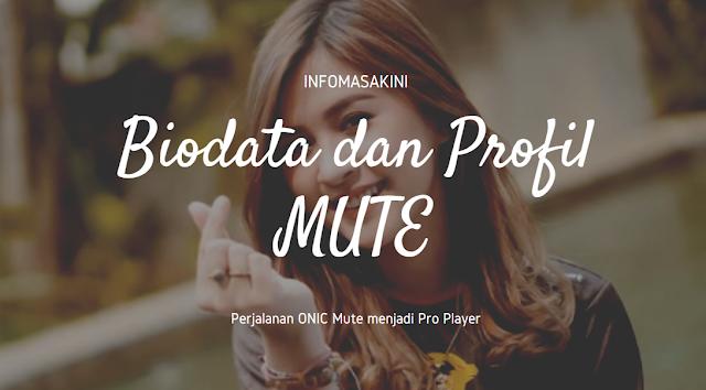 Biodata dan Profil ONIC Mute, Kembaran BABYLA! – PUBG Mobile