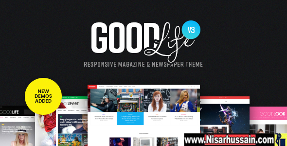 GoodLife Premium Responsive Theme