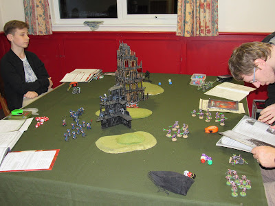 40k seems wargames club essex