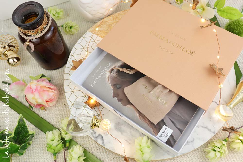 avis l'Atelier Emma & Chloé Box bijou
