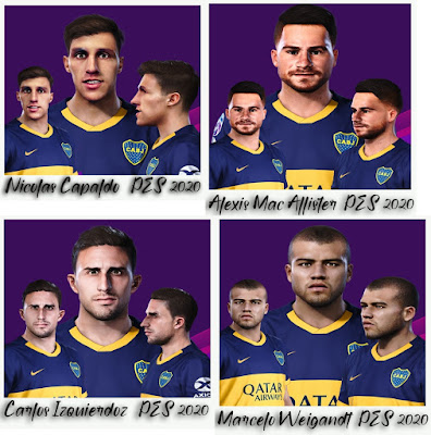 PES 2020 Facepack Boca Juniors by Gordoumbanda