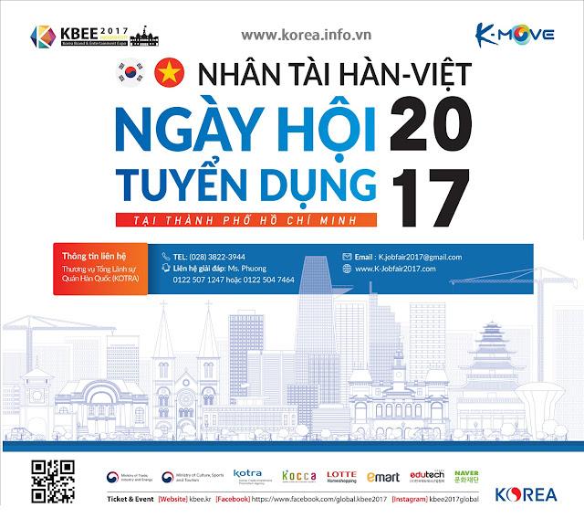Ngày Hội Tuyển Dụng các doanh nghiệp Hàn Quốc Job Fair 2017