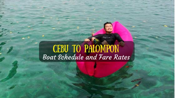 Cebu to Palompon boat schedule