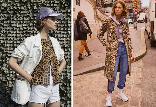 Леопардовый принт в образах спорт шик с джинсами