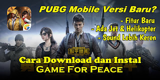 Cara Download dan Instal Game For Peace Di Android