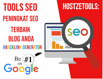 Tools SEO HostzeTools: Peningkat SEO Terbaik Blog Anda - Backlink Generator - hostze.net