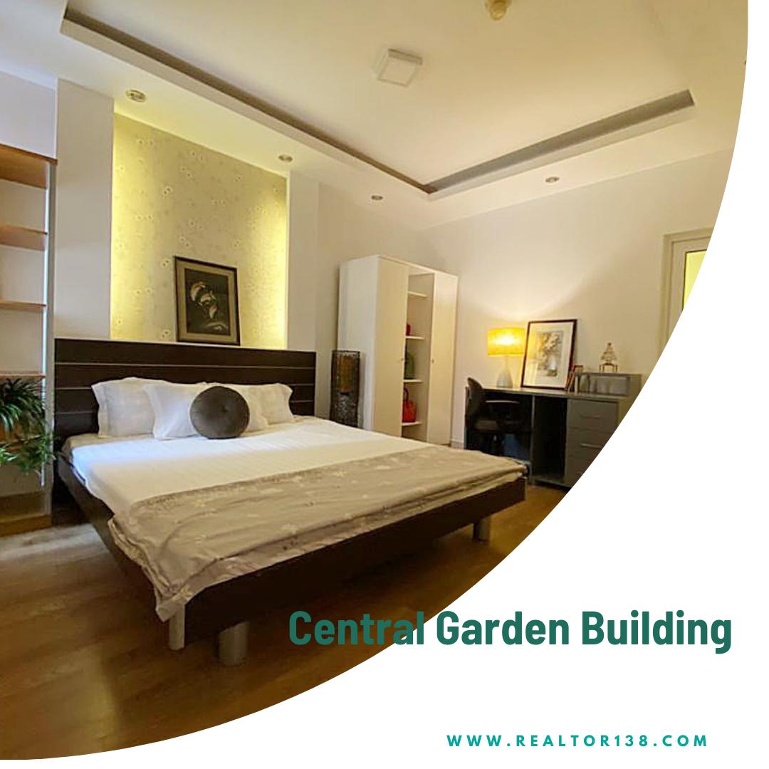 Cho thuê 2 phòng ngủ Central Garden Building block M lầu 10