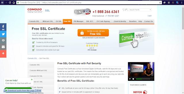 3 Situs Penyedia Sertifikat SSL Gratis