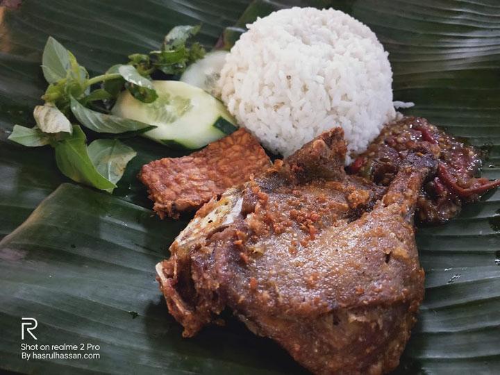 Menu Makan di Rumah Makan Cinderlaras Medan