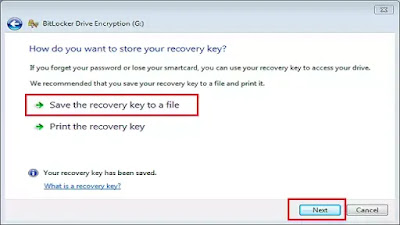How to Set Password in Pendrive