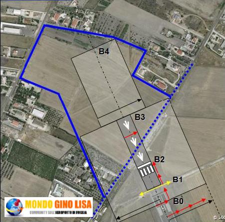 Foggia, aeroporto Gino Lisa, il Movimento 5 stelle in visita per monitorare i lavori