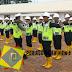 Satlantas Polres Batang Melaksanakan Pelatihan Satpam PT. Nawakara