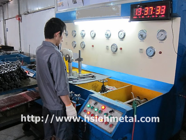 Pressure-test-Quality-Control-Forging-parts-Shanghai