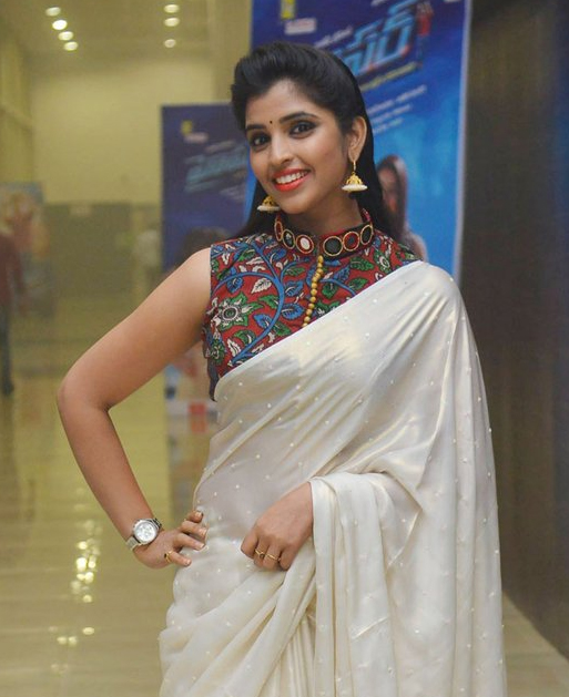 anchor shyamala at Hyper movie audio launch