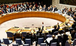 Russia vetoes for 8th time UN resolution on Syria