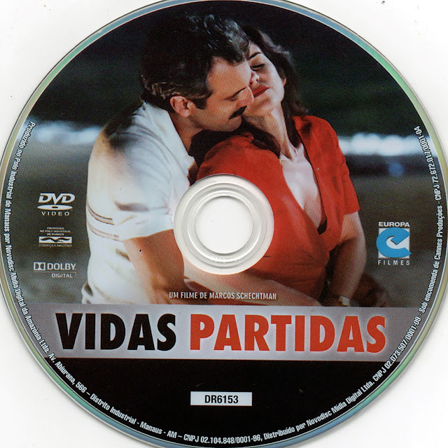 Label DVD Vidas Partidas (Oficial)