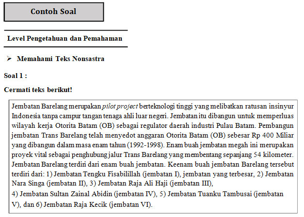 Soal Dan Pembahasan Bahasa Indonesia Ujian Nasional Smp Didno76 Com