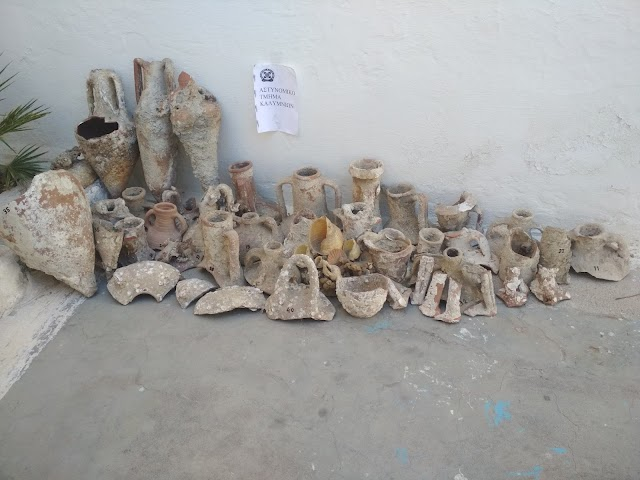 Συνελήφθη στην Κάλυμνο ημεδαπός για κατοχή αρχαιοτήτων
