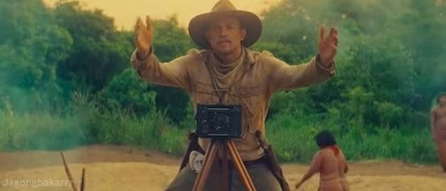 sinopsis lost city of z scene