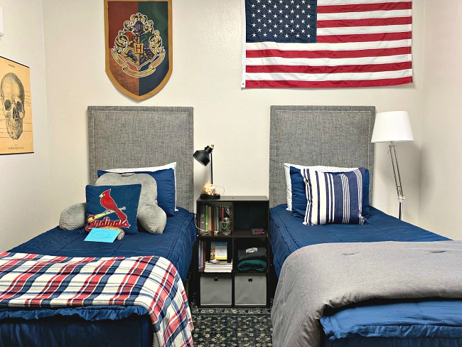 Boys Dorm Room Decor And Organizing Essentials Dimples And Tangles