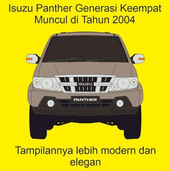 Isuzu panther generasi Keempat