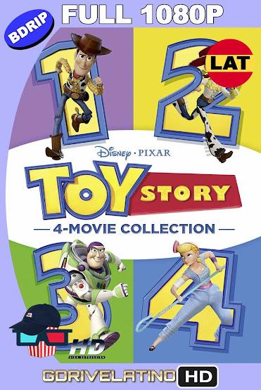 Toy Story (1995-2019) Colección BDRip 1080p Latino-Ingles MKV