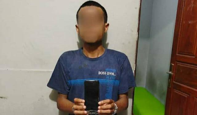 Polisi Tangkap Seorang Pemuda Pelaku Penjambretan di Kota Jayapura