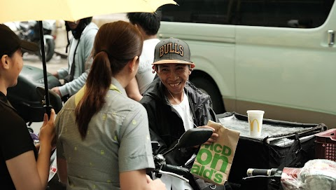 McDonald's gives back to delivery drivers with a special surprise