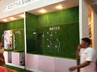 BOOTH PT. ADITYA SARANA GRAHA (WASSER, KIRIN DAN ARISTON)