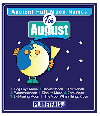 August Full Moon Names