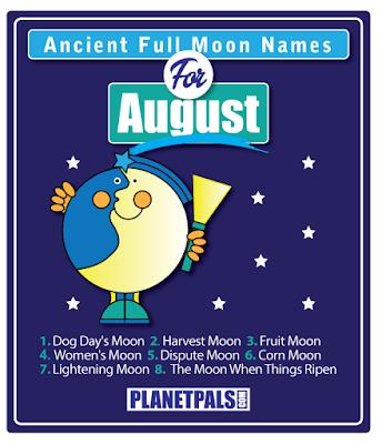 August Full Moon Names