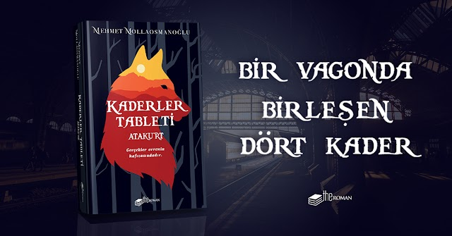 Mehmet Mollaosmanoğlu'un son kitabı Kaderler Tableti 'Atakurt' Çıktı.