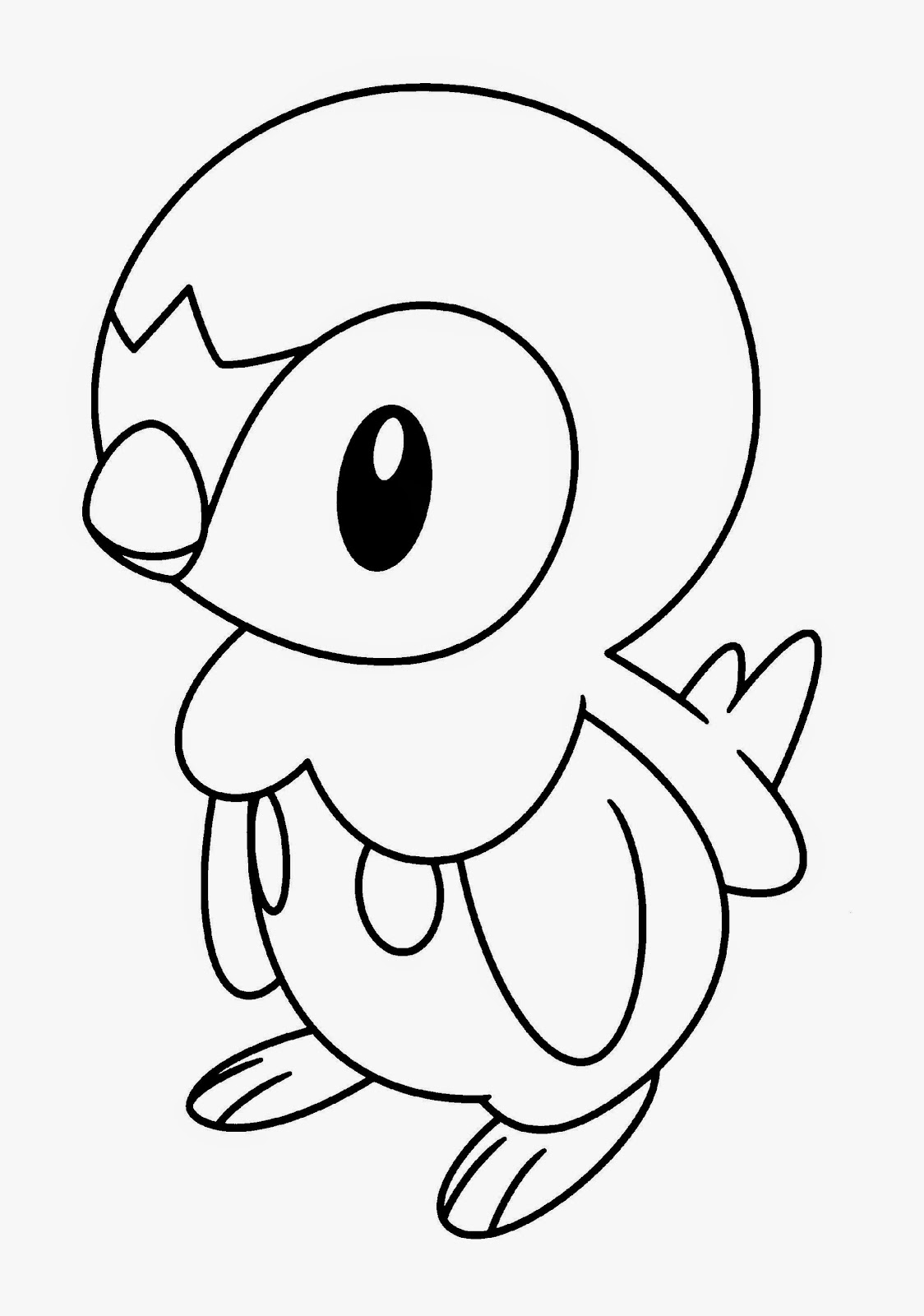 Pokemon pictures to color free coloring pictures for Cute pokemon coloring pages