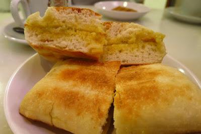 Good Morning Nanyang Cafe, orange ciabatta