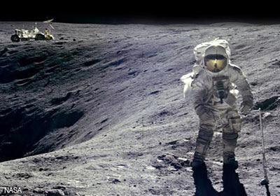 Astronautas na Lua, e o que eles realmente viram?