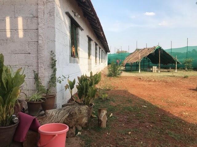 ashram female dormitory