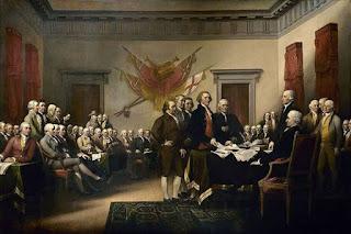 Lukisan Amerika Serikat Memproklamasikan Kemerdekaan