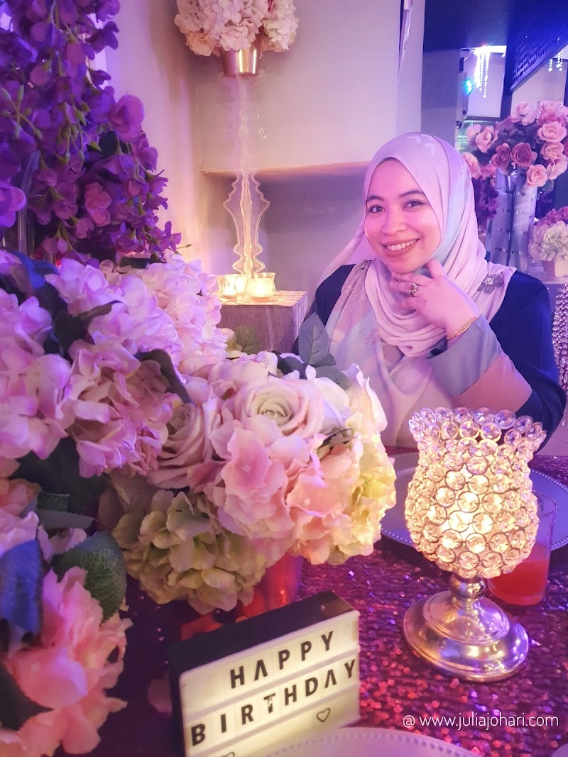OMG! Romantic Candle Light Dinner Birthday Surprise for Julia Johari.