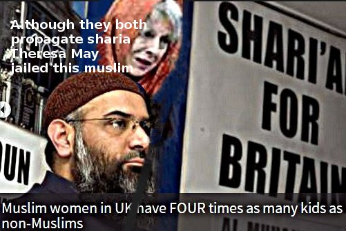 Choudary and May both want more sharia and less Human Rights - so what about Brits?
